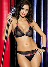 Ensemble 2 pi�ces Showgirl